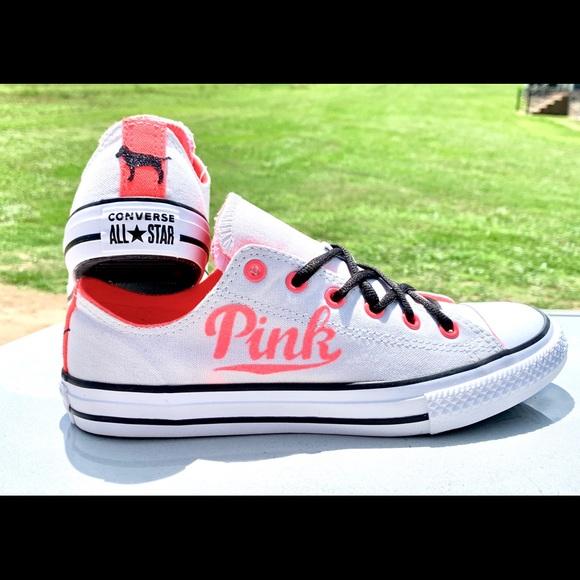 9c74fb0afafdc Pink Victoria's Secret converse all-star NWT